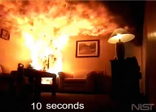 Watch and share Burning House GIFs on Gfycat