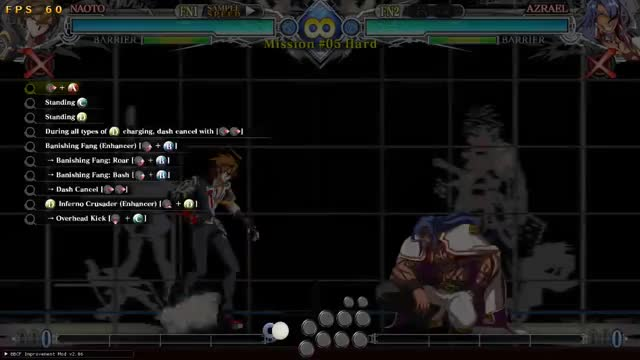Watch and share BBCF: Naoto Hard 5 GIFs by snuffychris605 on Gfycat