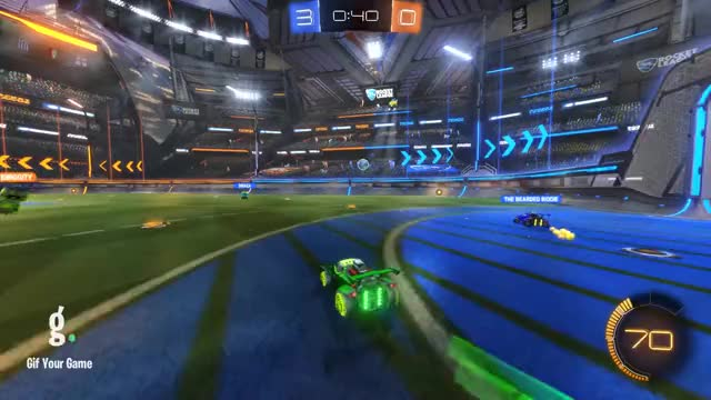 Watch Goal 4: The Bearded Biddie GIF by Gif Your Game (@gifyourgame) on Gfycat. Discover more Gif Your Game, GifYourGame, Rocket League, RocketLeague, Sir Linko GIFs on Gfycat