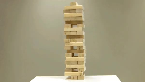 Watch A bloated Jenga metaphor for boston.gov GIF on Gfycat. Discover more related GIFs on Gfycat