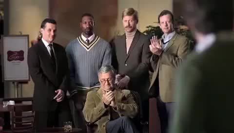 Watch Welcome To The Society of Uncompromising Men.  (Wiserhood Whisky Commercial) GIF on Gfycat. Discover more related GIFs on Gfycat