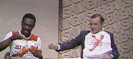todayilearned, TIL the Larry the Lobster sketch on SNL where Eddie Murphy asks the viewers to call-in to spare Larry's life caused such a spike on phone networks that AT&T established communication with TV networks so that they could be warned of potentially disruptive future events. It remains in use to this day (reddit) GIFs