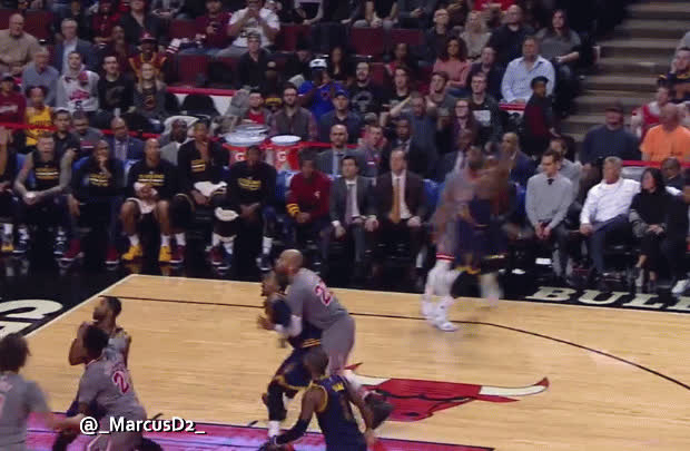 sportsarefun, Dwyane Wade smacks LeBron on the butt after making a shot GIFs