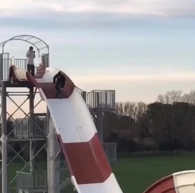 Watch and share Water Slide GIFs on Gfycat