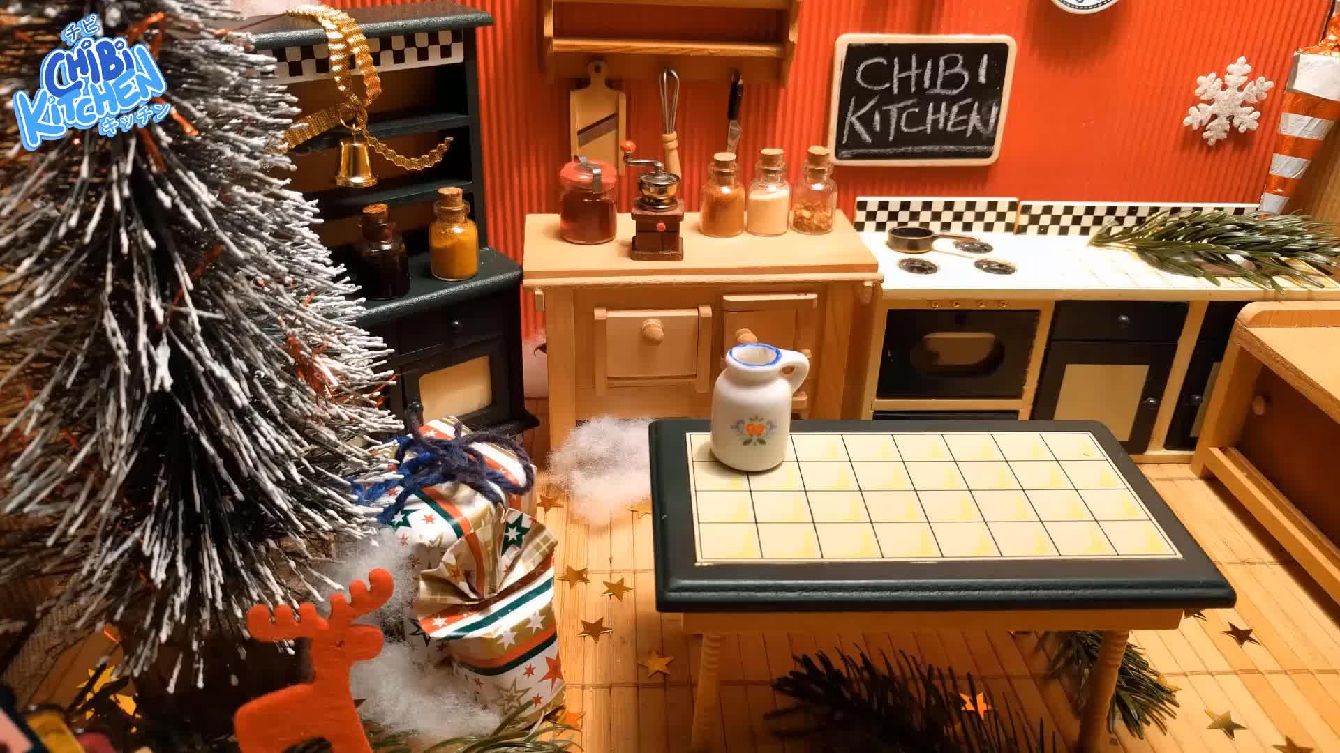 christmas, christmas cocktail, christmas recipe, cocktail, cooking, cute cooking, diy recipe, eggnog, food, food recipes, kawaii, mini cooking, real mini food, recipe, recipes, tiny cooking, Mini cooking: Eggnog Cocktail GIFs