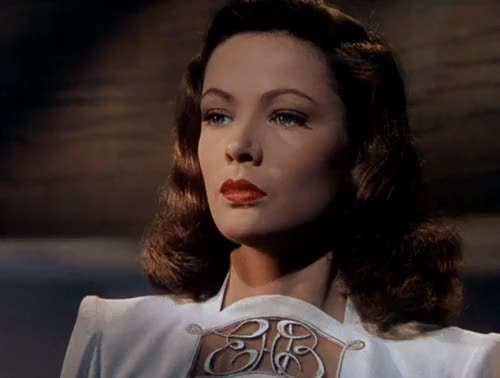 Watch Gene Tierney in Leave Her to Heaven (1946). GIF on Gfycat. Discover more 1940s, 20th century fox, classic film, classic movies, femme fatale, film noir, gene tierney, gif, glamour, john m. stahl, leave her to heaven, my gif, nostalgia, old movies, retro, technicolor GIFs on Gfycat