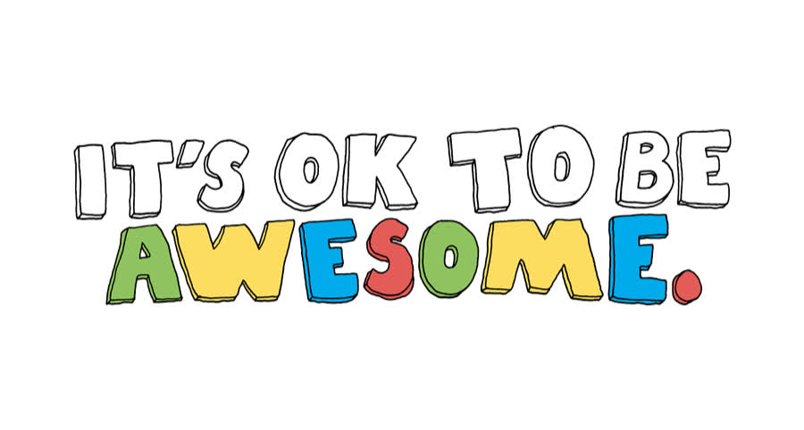 1, amazing, awesome, be, best, color, colorful, cool, great, it's, its, moto, number, ok, one, the, to, Its OK to be awesome GIFs