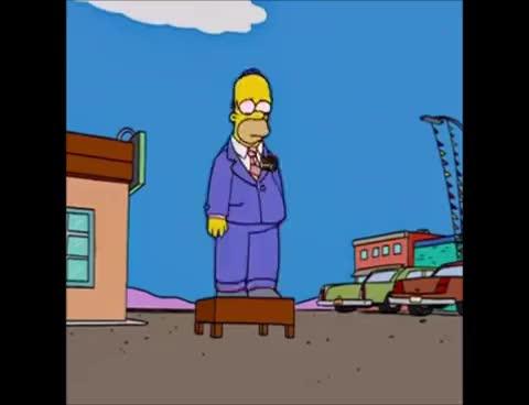 Watch and share Era Mi Mejor Amigo [Los Simpson - Latino] GIFs on Gfycat