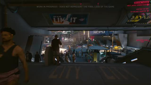 Watch and share Cyberpunk 2077 GIFs and Gameplay GIFs by b1-66er on Gfycat