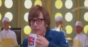 Watch and share Austin Powers Kind Of Nutty Sh GIFs on Gfycat