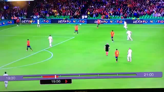 Watch and share Eric Dier Vs Sergio Ramos With One Of The Most Fabulously Pointless Clatterings Ever Seen. GIFs on Gfycat