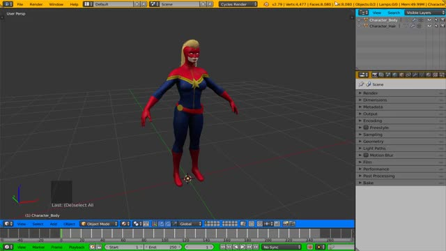 Watch Blender - Separate Objects GIF on Gfycat. Discover more Blender, Captain, Marvel, Rigging GIFs on Gfycat