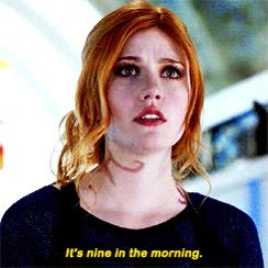 Watch and share Clary, Gif, Shadowhunters, Fairchild, Fray GIFs on Gfycat