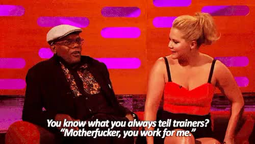 Watch The Graham Norton Show s17e09Samuel L. Jackson's approach to GIF on Gfycat. Discover more Graham Norton, Samuel L Jackson, gif, television GIFs on Gfycat
