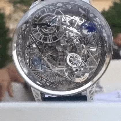 Watch and share Jacob & Co Astronomia Watch Time Lapse GIFs on Gfycat