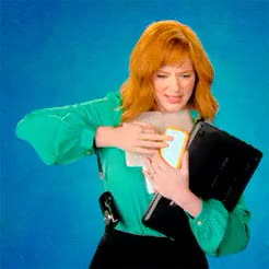 Watch HARRIS-OLSON GIF on Gfycat. Discover more Christina Hendricks, Elmo, Sesame Street, she can teach me about technology any day GIFs on Gfycat