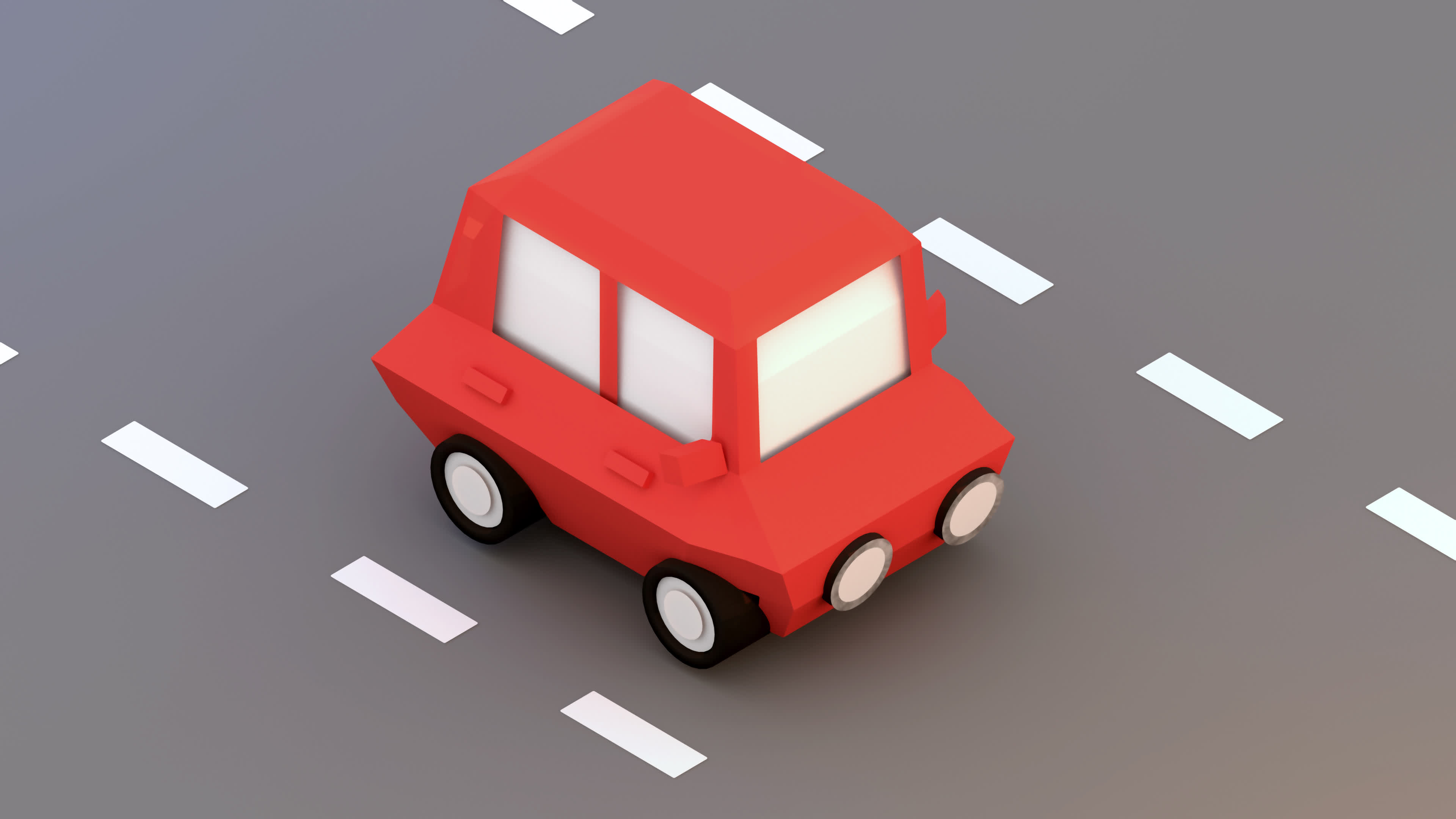 update low poly red car GIFs