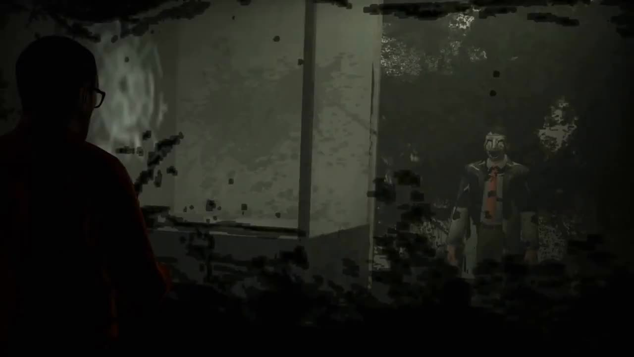 Game, Horror, Spook, animation, creepy, gmod, indie, lemurfot, regalis, scp, witchygmod, SCP – Containment Breach [Gmod Animation] GIFs