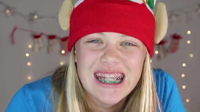 I MADE A BIG MISTAKE WITH MY BRACES!! (Vlogmas Day 7) vlogmas the savvy life teen braces savannah orthodontist christmas braces tips braces big mistake GIF