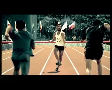 Amul Macho Latest Ad Campaign - Race TVC with Saif Ali Khan GIFs