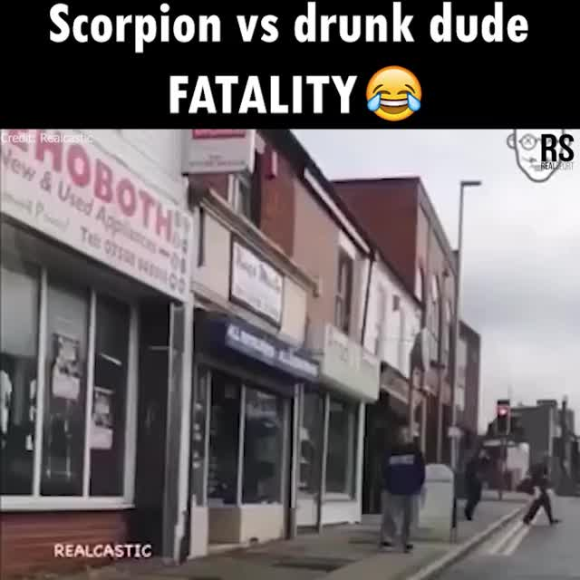 Is this drunk dude going to come back and win this one??