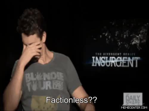 Watch Insurgent blog GIF on Gfycat. Discover more Shailene Woodley, abnegation, amity, candor, dauntless, divergent, erudite, factionless, factions, four, insurgent, interview, miles teller, theo james, tris prior GIFs on Gfycat