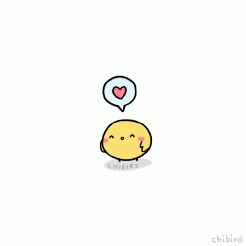 Watch and share Chibird You Are Loved GIFs on Gfycat
