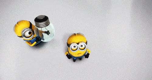 Watch and share Minions Jumping ANIMATED GIF - SpeakGif GIFs on Gfycat