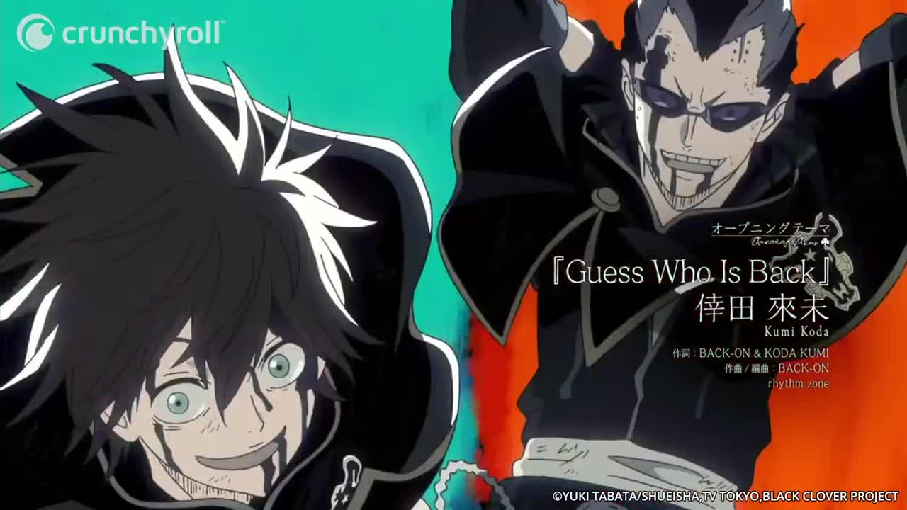 Black Clover Opening 4 Luck Magna Gif By Toyero