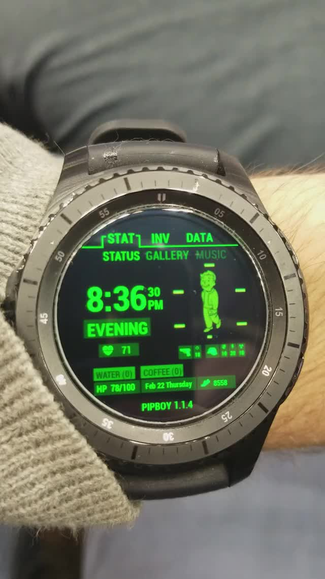 Watch Pip boy watch GIF by @sergev on Gfycat. Discover more related GIFs on Gfycat