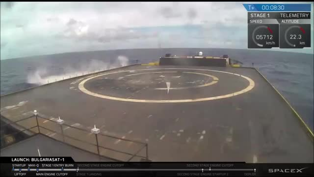 Watch BulgariaSat-1 Landing GIF by @alex_wonga on Gfycat. Discover more spacex GIFs on Gfycat