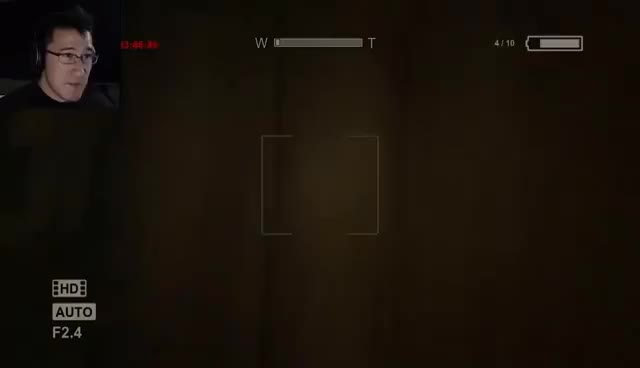 Watch this trending GIF on Gfycat. Discover more Markiplier, Outlast, funny, scare GIFs on Gfycat