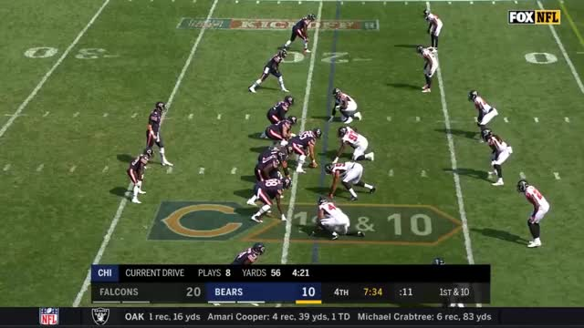 Watch and share Chicago Bears GIFs and Tarik Cohen GIFs by Erik Smith on Gfycat