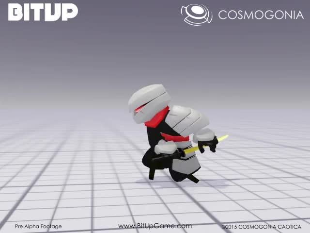 Watch BitUp's Swordman Attack WIP GIF on Gfycat. Discover more Gamdev, Indedev, gamedev GIFs on Gfycat