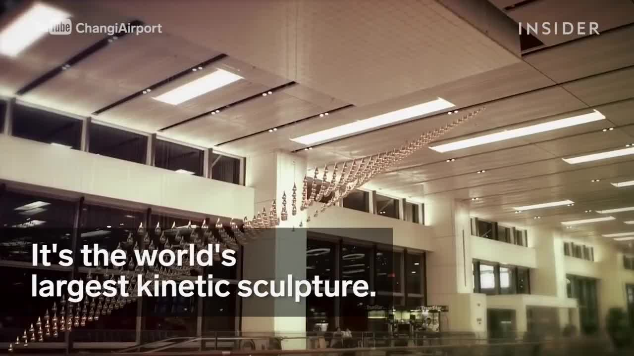 Kinetic sculpture in Singapore GIFs