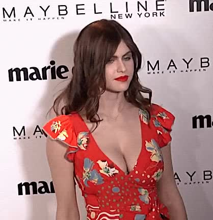 Watch and share Alexandra Daddario GIFs and Red Carpet GIFs on Gfycat