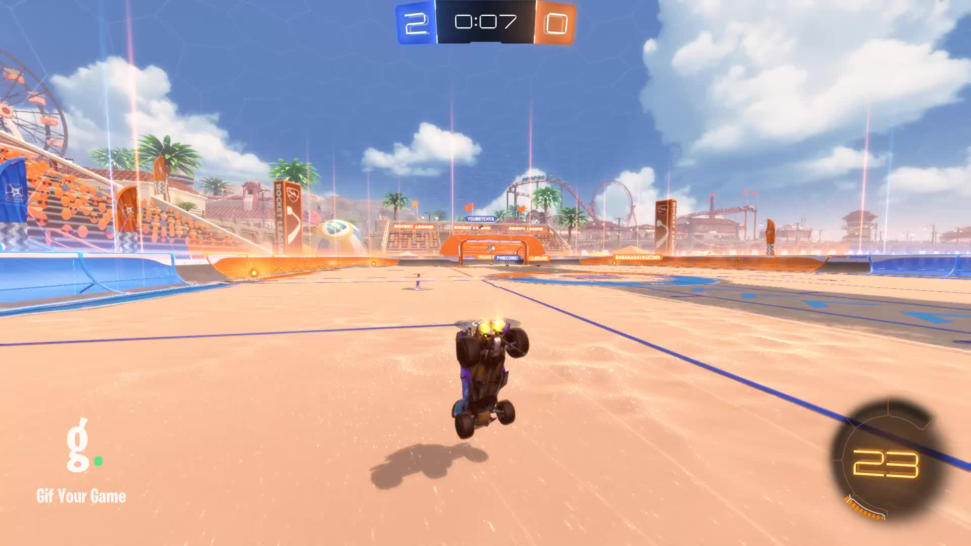 DOTY, Gif Your Game, GifYourGame, Rocket League, RocketLeague, Demo 2: Yeong RaZeR GIFs