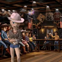 Watch and share Line Dancing (Large Animated Bodyshot) GIFs on Gfycat