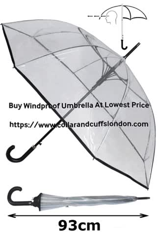 Watch and share Windproof Umbrella GIFs and Umbrellas GIFs by COLLAR AND CUFFS LONDON on Gfycat