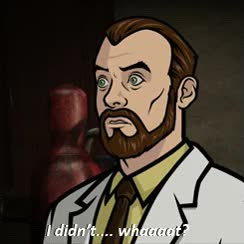 Watch and share Dr. Algernop Krieger (Archer) GIFs on Gfycat