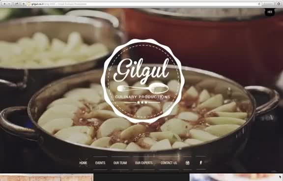 Watch 8 Unique Restaurant Websites: Gilgul Culinary Productions GIF on Gfycat. Discover more related GIFs on Gfycat