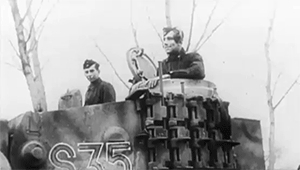 1. SS Panzer Division Leibstandarte Adolf Hitler, 13./SS-Panzer-Regiment 1, 1943, 1st SS Panzer Division Leibstandarte SS Adolf Hitler, Eastern Front, Leibstandarte, Leibstandarte Division, Tiger, Tiger tank, Tiger tanks, armored vehicles, armoured vehicles, black and white, gif, gifs, history, military, ostfront, panzers, tanks, ukraine, waffen ss, waffen-ss, world war II, wwII,  GIFs