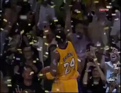 Watch Kobe celeb GIF on Gfycat. Discover more 5th ring, Kobe, basketball, buzzer beater, celebration GIFs on Gfycat