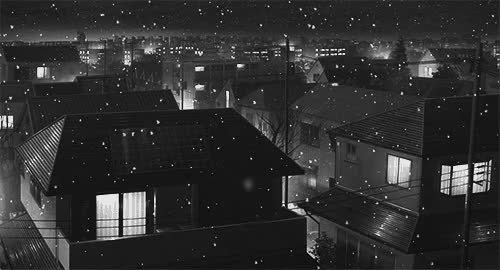 Watch and share Let It Snow, Let It Snow, Let It Snow~   Black And White, Gif And Anime GIFs on Gfycat