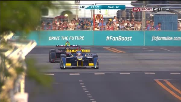 auto racing, f1, formula 1, formula one, sports, Heidfeld Prost Crash - Beijing Formula E GIFs