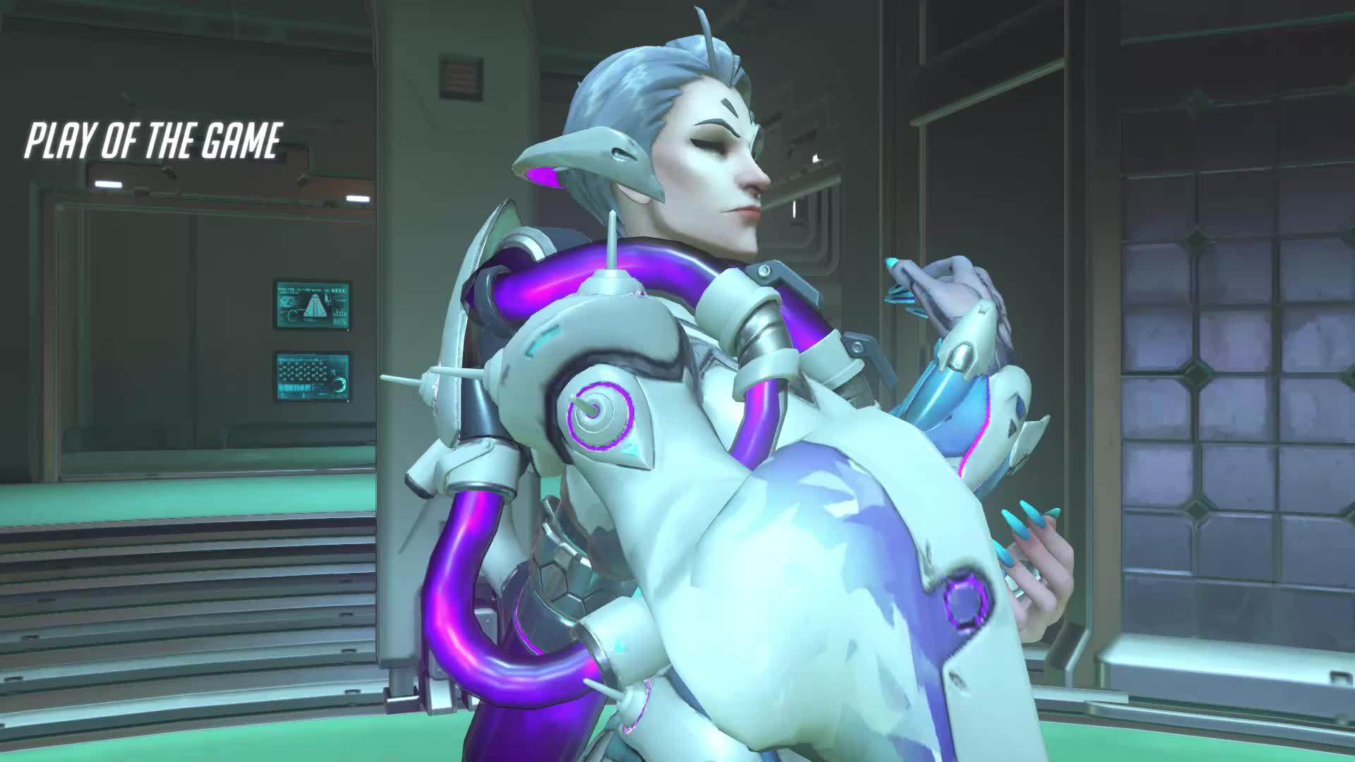 Moira, Overwatch, POTG, Boring GIFs