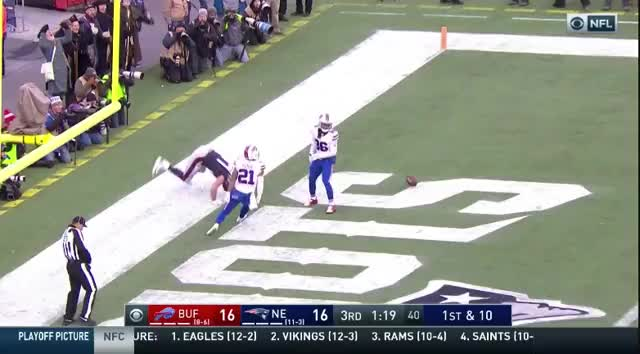 Watch and share 31b Gronk Claps For The DPI Call.mov GIFs on Gfycat