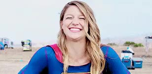 Watch and share Melissa Benoist GIFs and Laughing GIFs on Gfycat
