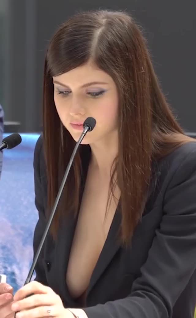 Watch and share Alexandra Daddario GIFs and Microphone GIFs on Gfycat