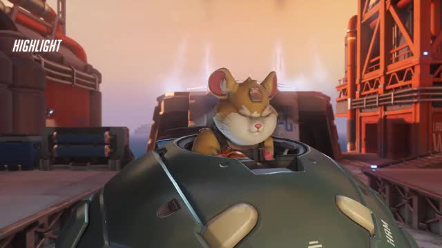 Watch Elite Hammond GIF on Gfycat. Discover more highlight, overwatch GIFs on Gfycat